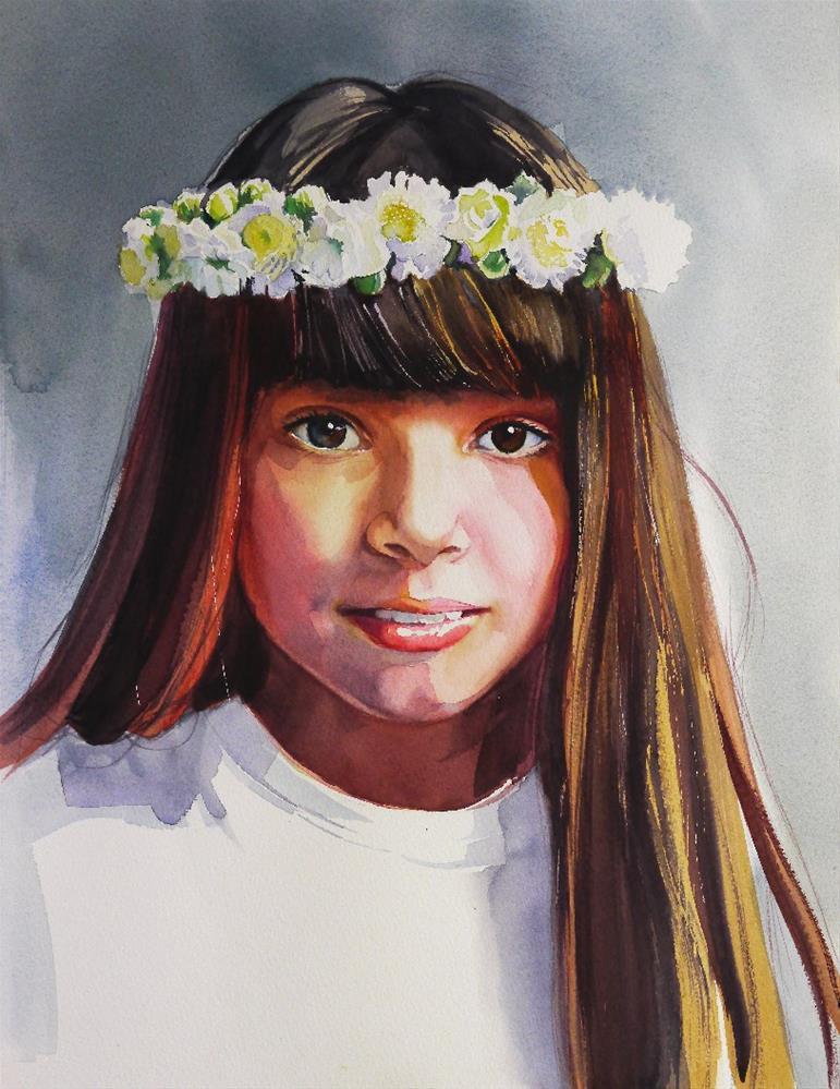 """Nataly"" original fine art by Beata Musial-Tomaszewska"