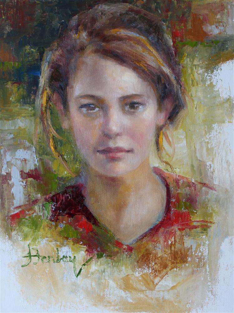 """Louise"" original fine art by Denise Henley"