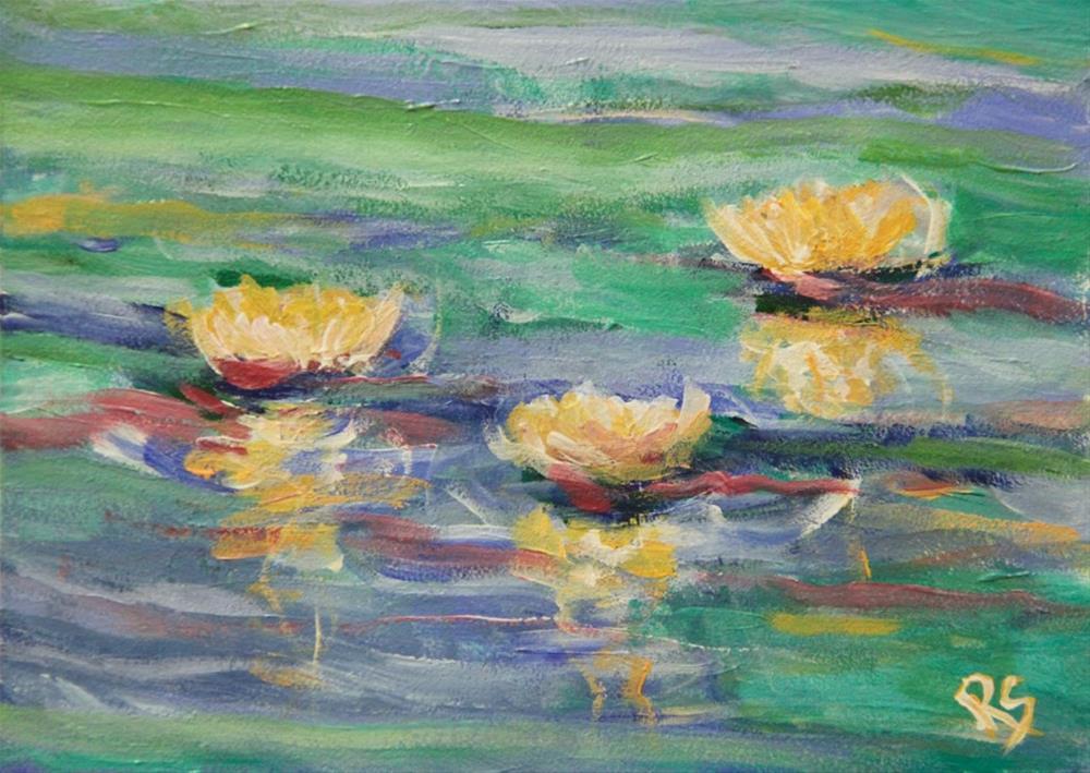 """""""Harmony"""" original fine art by Roberta Schmidt"""