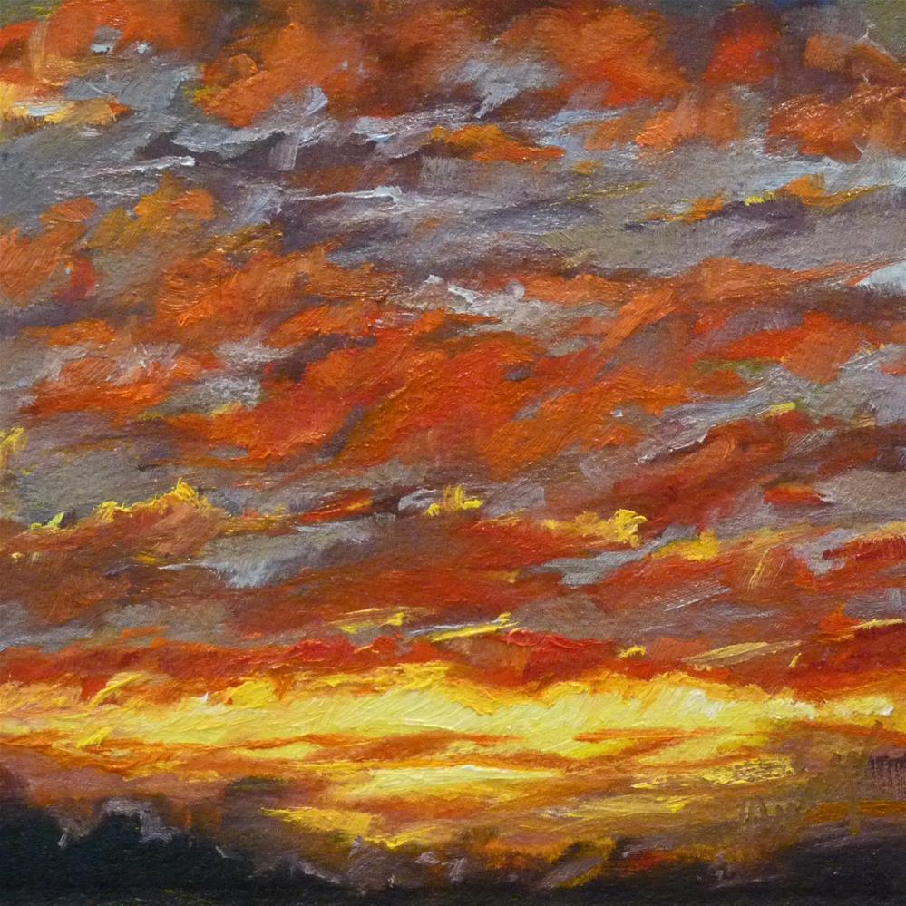 """Sky11"" original fine art by Sharman Owings"