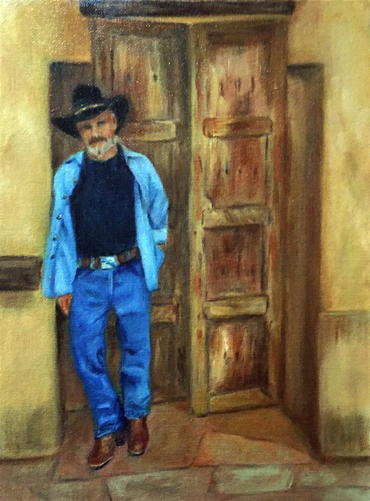 """Santa Fe Joe"" original fine art by Dicksie McDaniel"