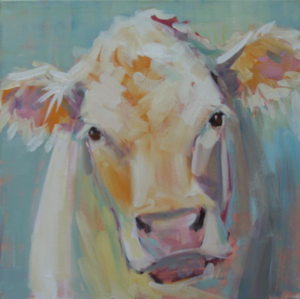 """""""I'm serious"""" original fine art by Carol Carmichael"""