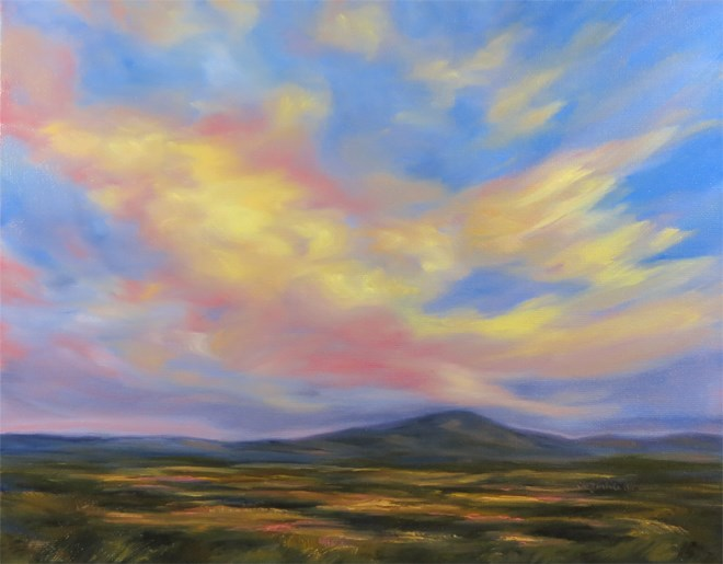 """Sky Dye"" original fine art by Carol Zirkle"