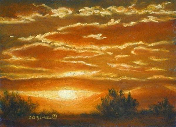 """""""Orange Juiced"""" original fine art by Carol Zirkle"""