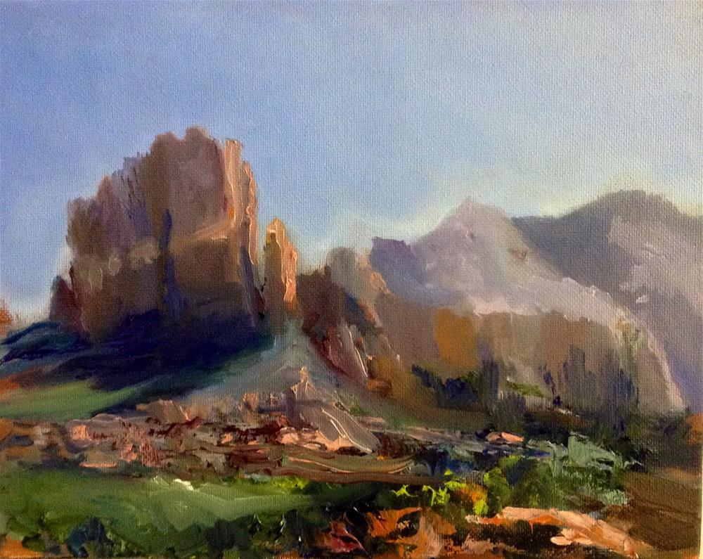 """Sedona Rocks!"" original fine art by Cathy Boyd"