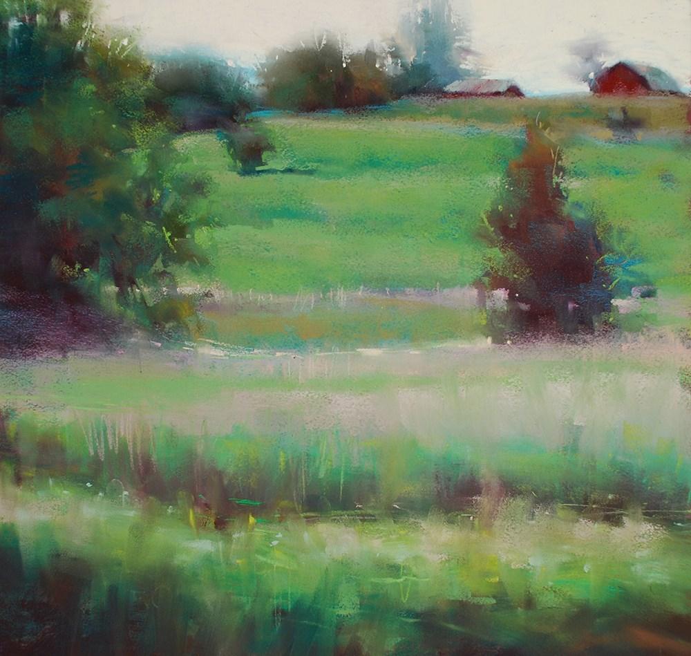 """Entranced by Green"" original fine art by Marla Baggetta"