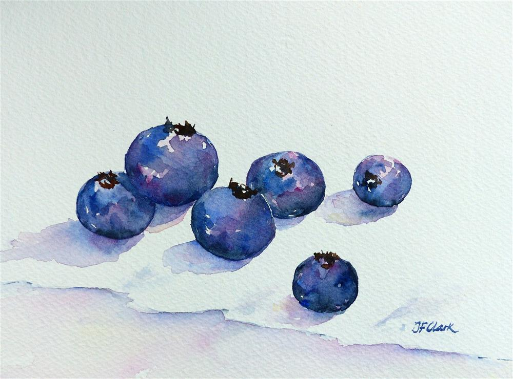 """Berries"" original fine art by Judith Freeman Clark"