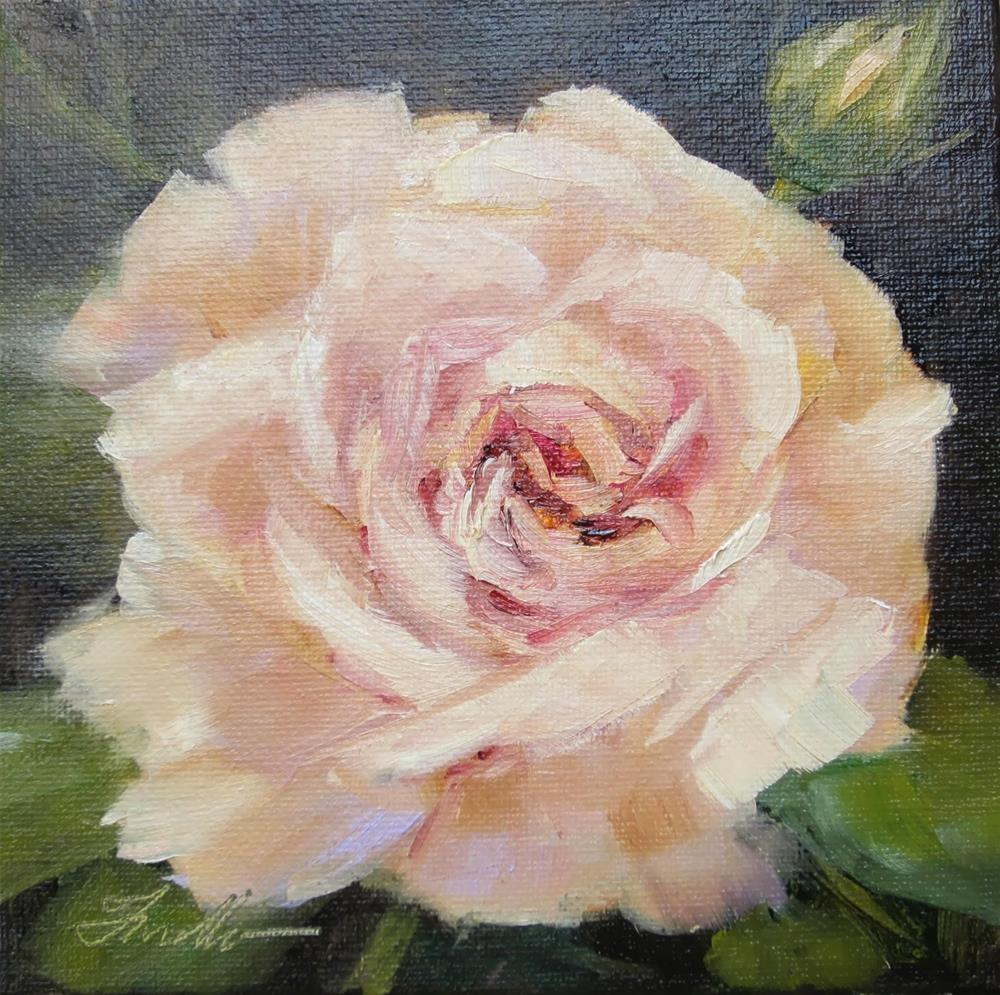 """Garden Rose"" original fine art by Pat Fiorello"