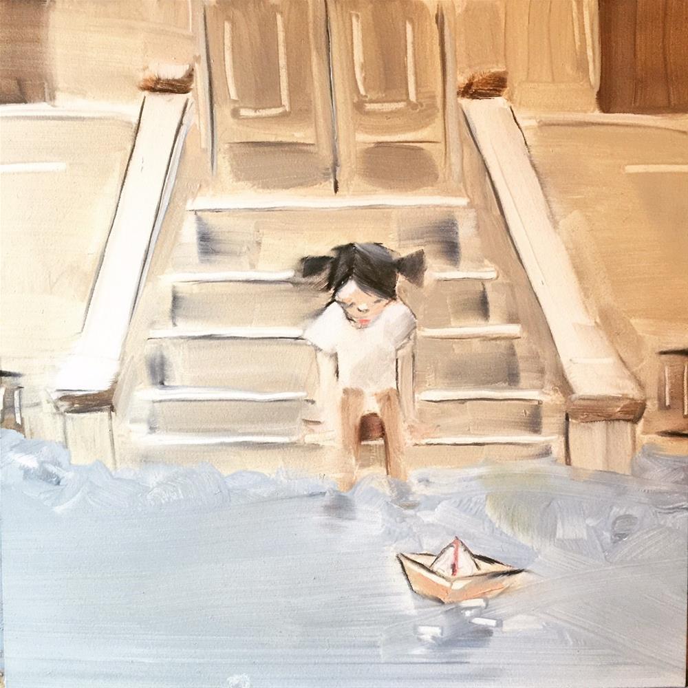 """""""478 The Earnest"""" original fine art by Jenny Doh"""