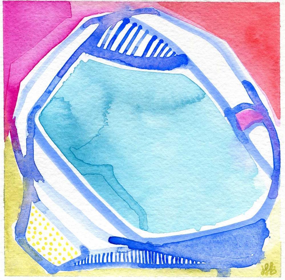 """Bubbles"" original fine art by Heather Bennett"