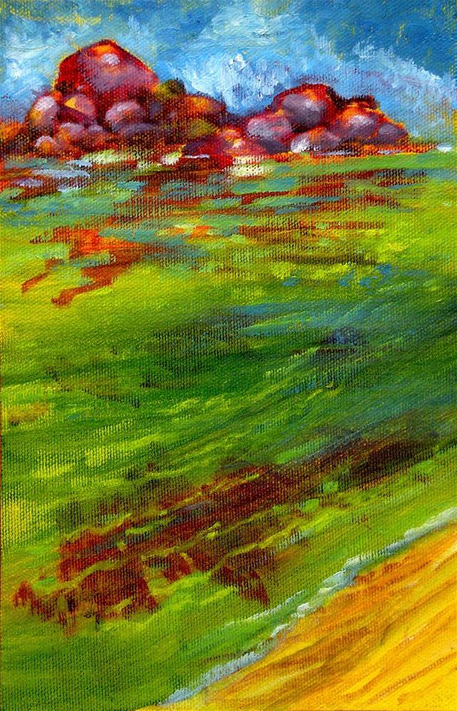 """Morning Shallows - SK01"" original fine art by richard rochkovsky"