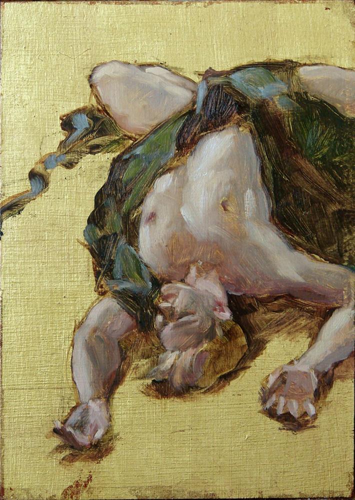 """""""Icarus"""" original fine art by Myriam Kin-Yee"""