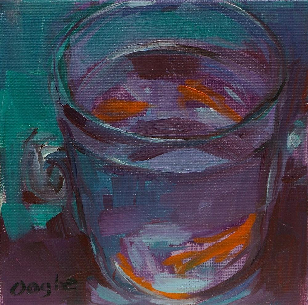 """Goldfish"" original fine art by Angela Ooghe"