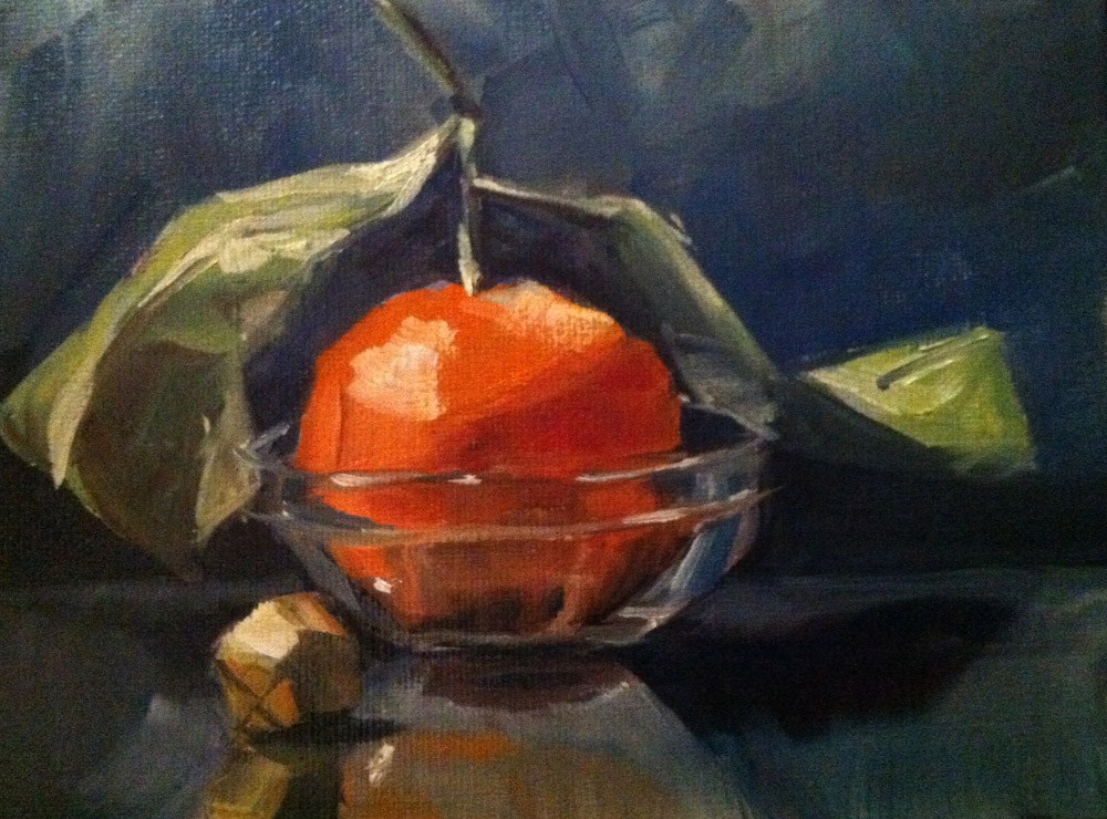 """Satsuma's Flight"" original fine art by Linda Marino"
