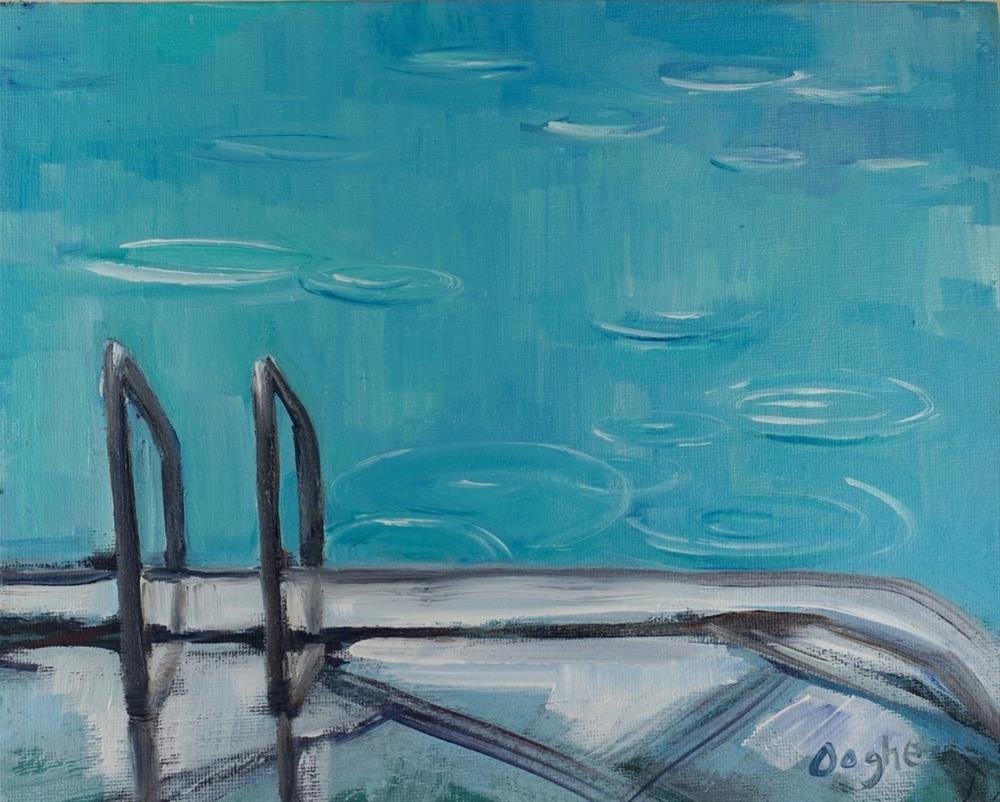 """rain"" original fine art by Angela Ooghe"