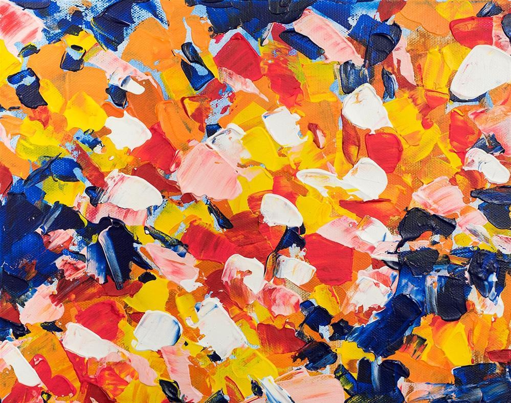 """""""Tear Off"""" original fine art by Franziska Schwade"""