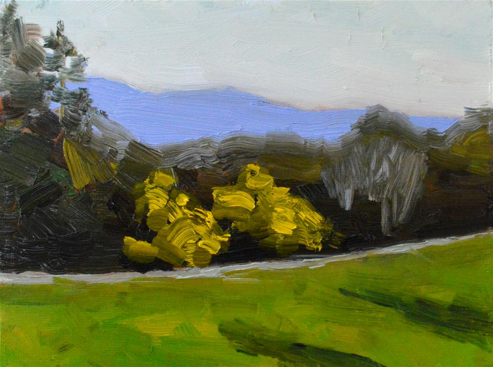 """Friday Plein Air"" original fine art by Peter Bain"