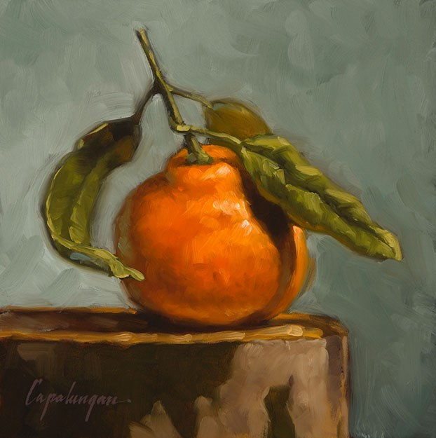 """Satsuma On Sycamore"" original fine art by David Capalungan"