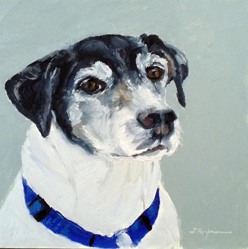 """Bradley, Older and Wiser"" original fine art by Shelley Koopmann"