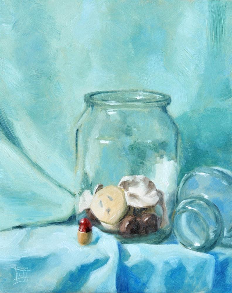 """Trapped"" original fine art by Johan Derycke"