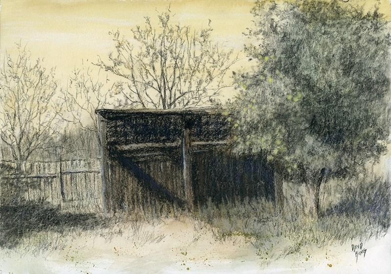 """Soon Forgotten"" original fine art by David King"