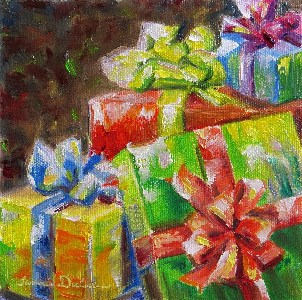 """Birthday Bliss"" original fine art by Tammie Dickerson"