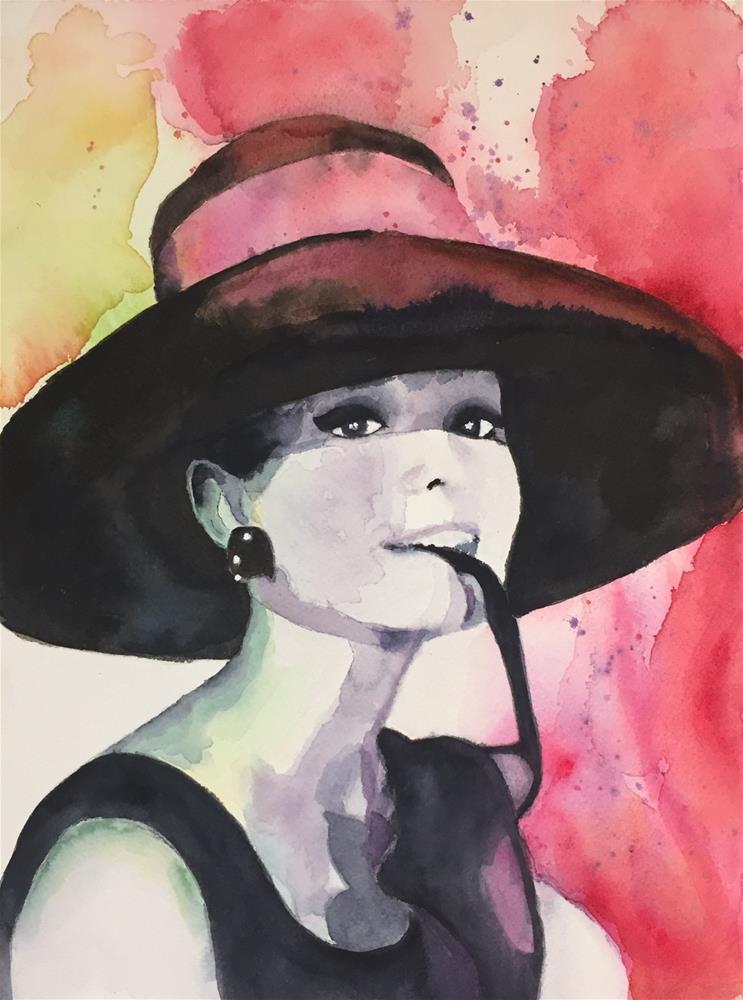 """""""Audrey II"""" original fine art by Melissa Gresham"""