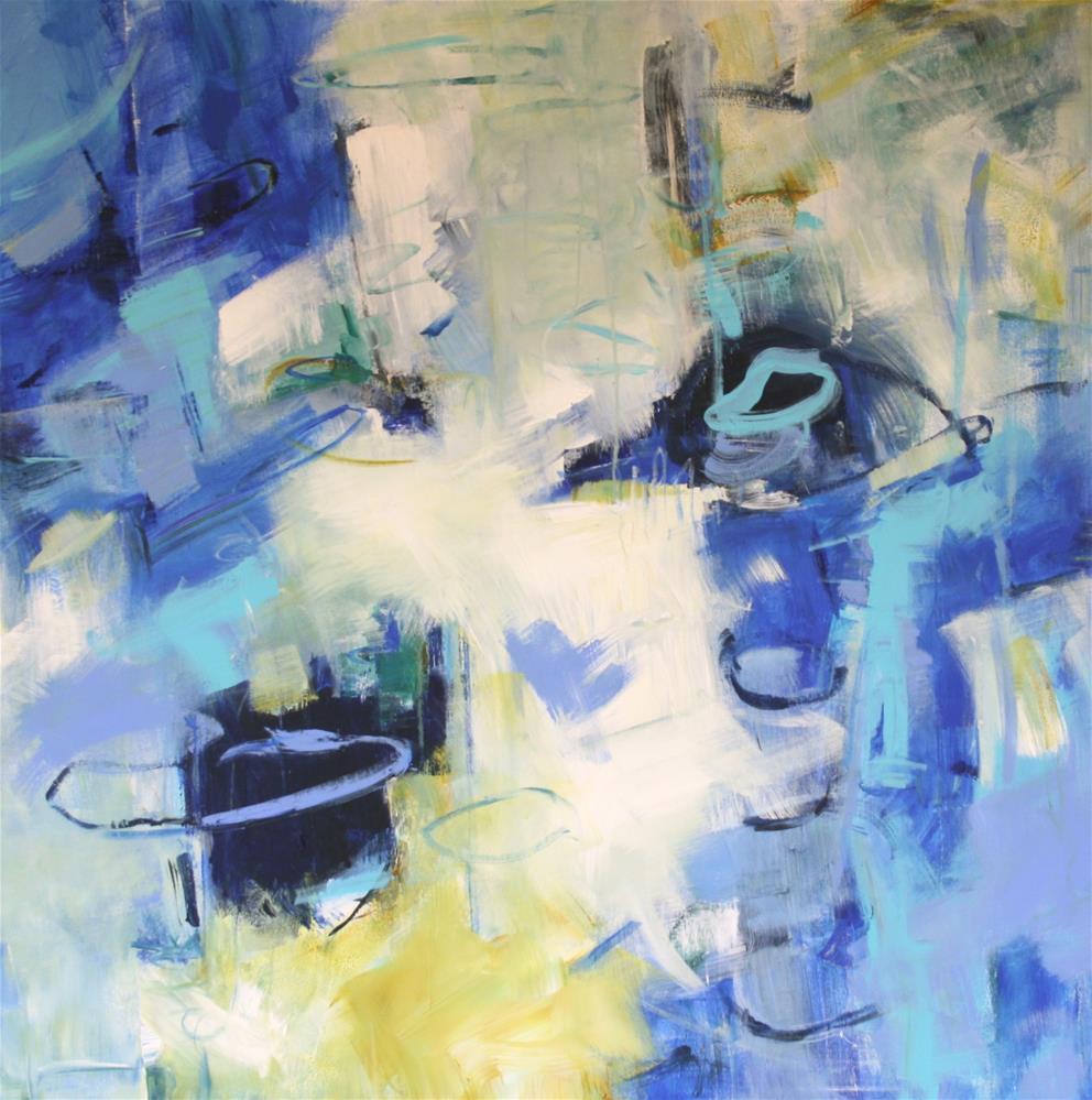 """Celest"" original fine art by Elizabeth Chapman"