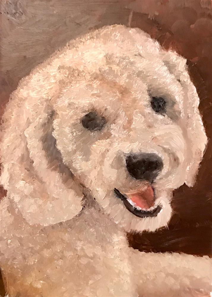"""""""Dolly"""" original fine art by Carole Chalmers"""