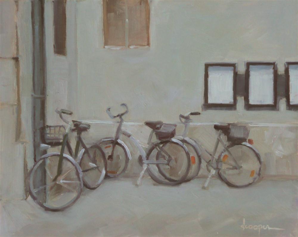 """""""Church Parking"""" original fine art by Dana Cooper"""