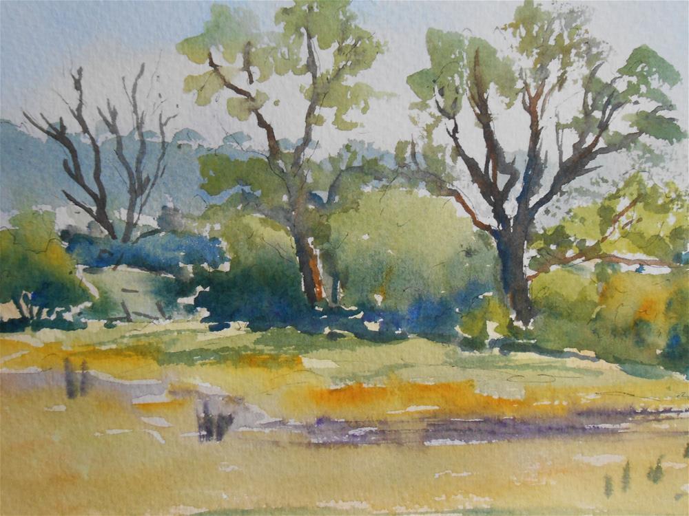"""""""Morning 8th June"""" original fine art by Graham Findlay"""