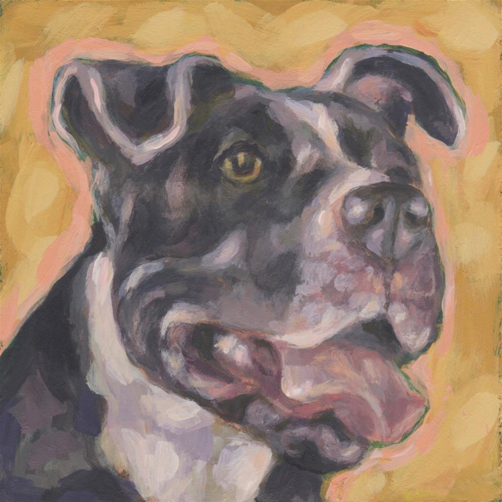 """Gracie"" original fine art by Kathy Hiserman"