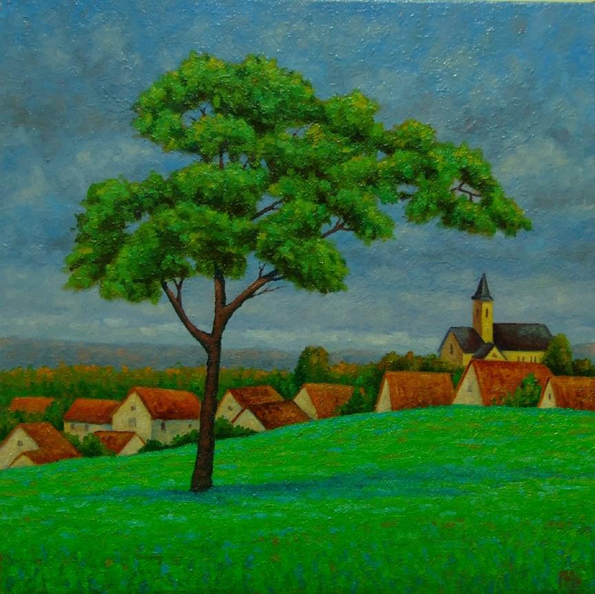 """Overcast"" original fine art by Mark  Attard"