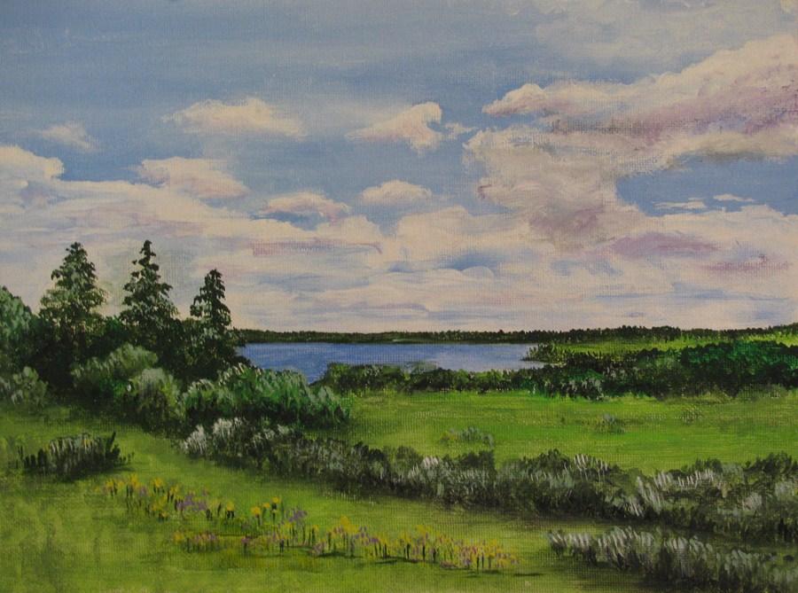 """Prince Edward Island"" original fine art by Nan Johnson"