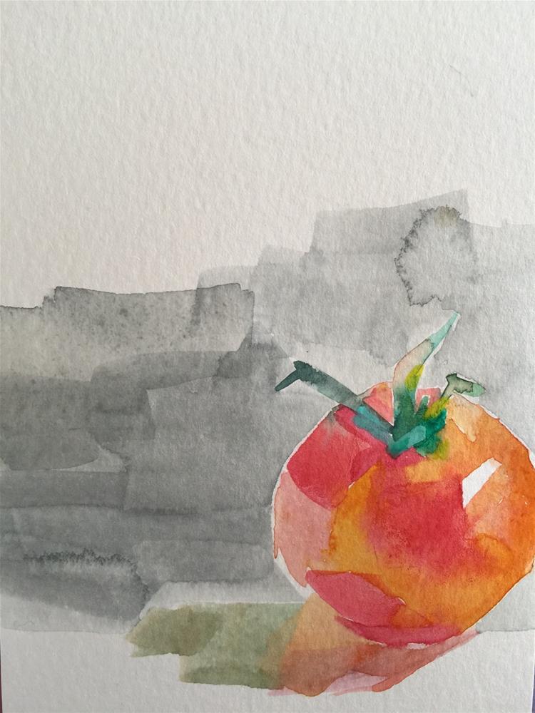 """""""191 Vine Ripened"""" original fine art by Jenny Doh"""