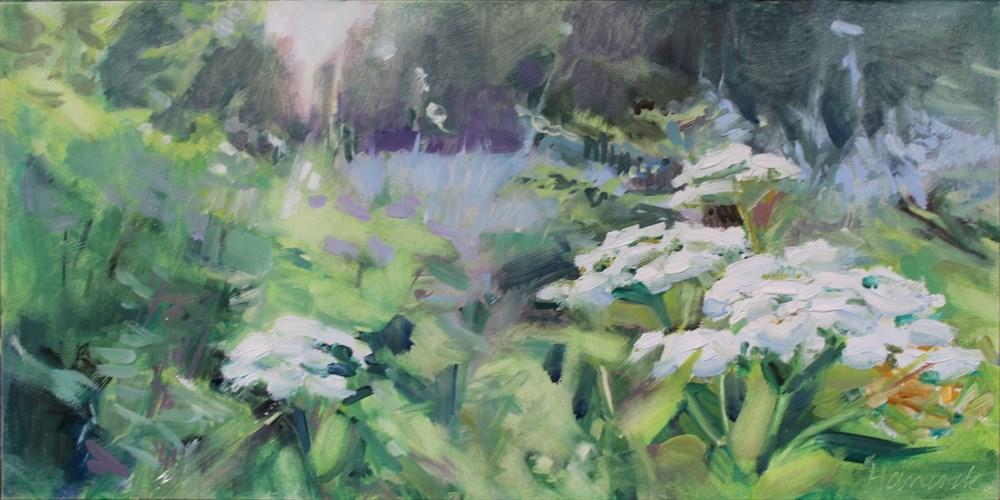 """Pushki"" original fine art by Gretchen Hancock"
