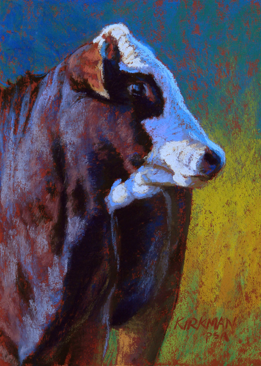"""Noble"" original fine art by Rita Kirkman"