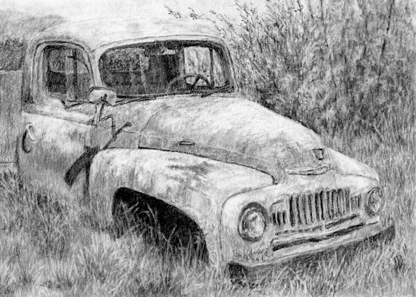 """Vehicle Study No 1"" original fine art by David King"