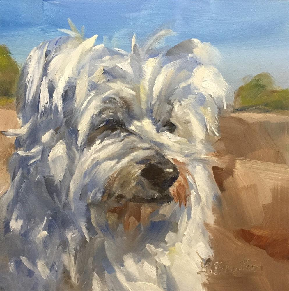 """""""At Attention"""" original fine art by Gary Bruton"""