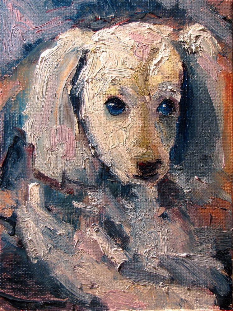 """Tad"" original fine art by Susan Elizabeth Jones"