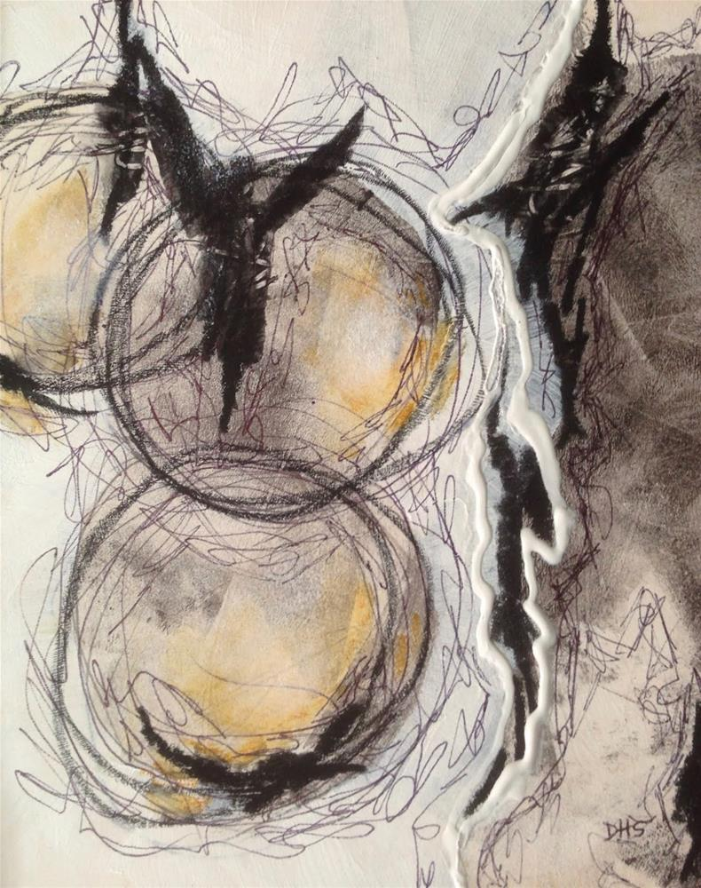 """Trust and Vulnerability"" original fine art by Dotty  Seiter"