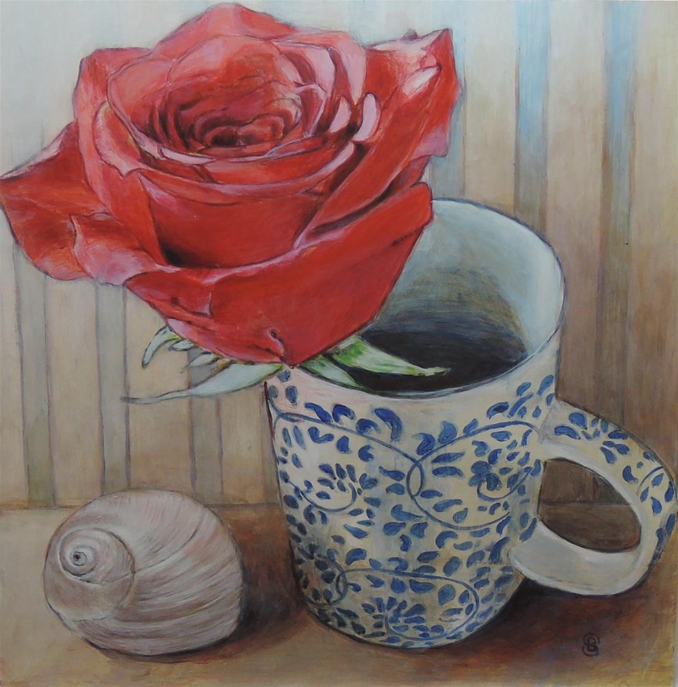 """Favorite Things"" original fine art by Belinda Scheber"