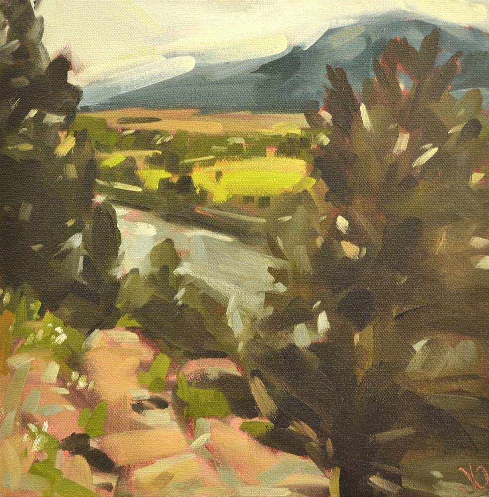 """Colorado"" original fine art by Jessica Green"