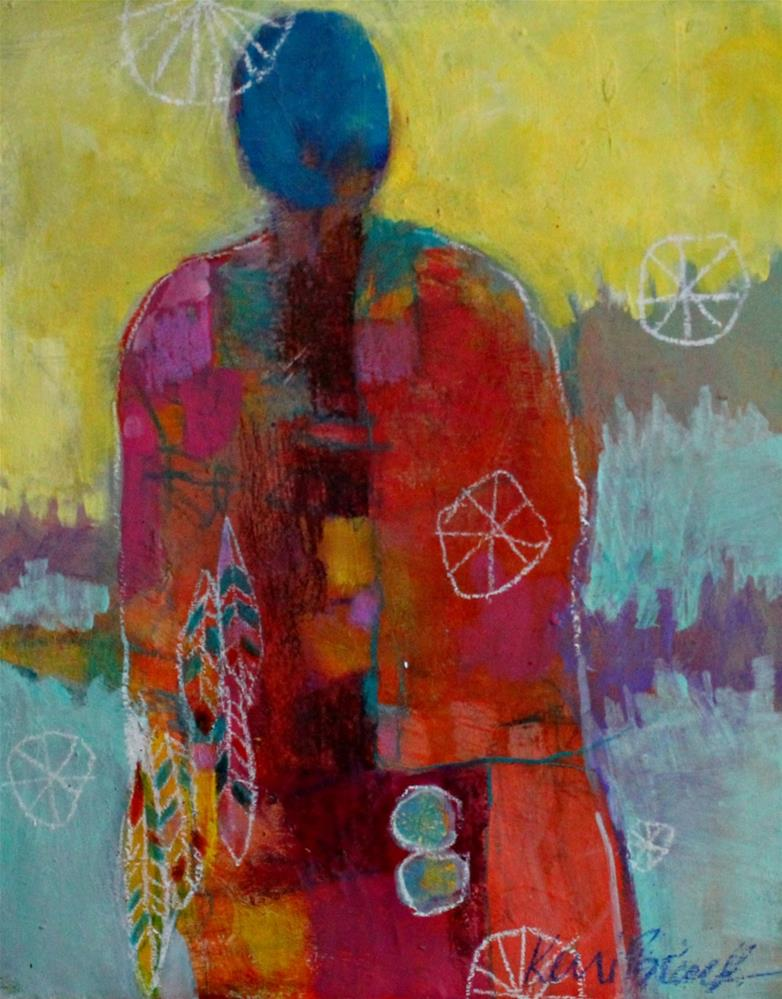 """Healer"" original fine art by Kerri Blackman"