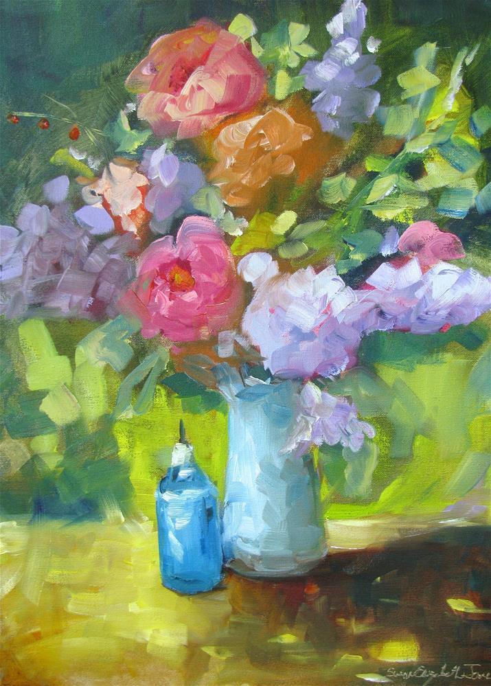 """Unaplogetic"" original fine art by Susan Elizabeth Jones"