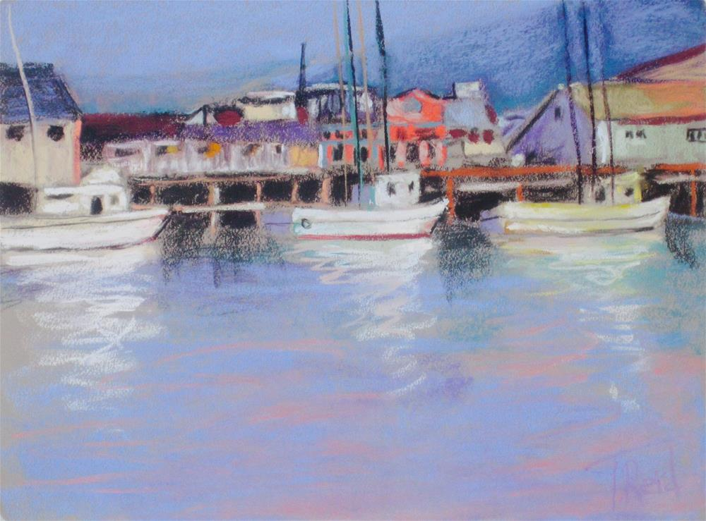 """Monterrey Docking"" original fine art by Toby Reid"