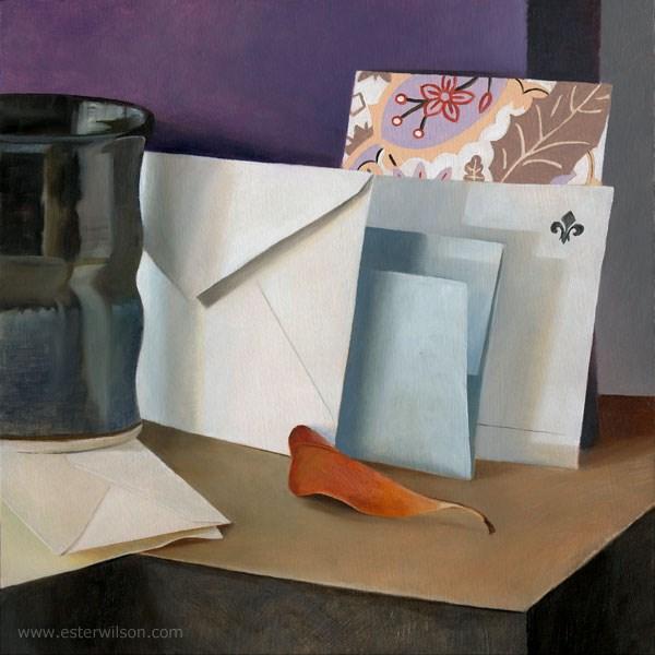 """""""Letters"""" original fine art by Ester Wilson"""