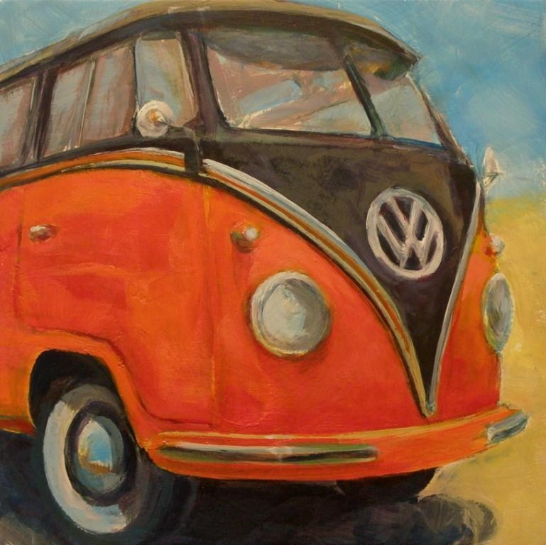 """VW GRIN"" original fine art by Brian Cameron"