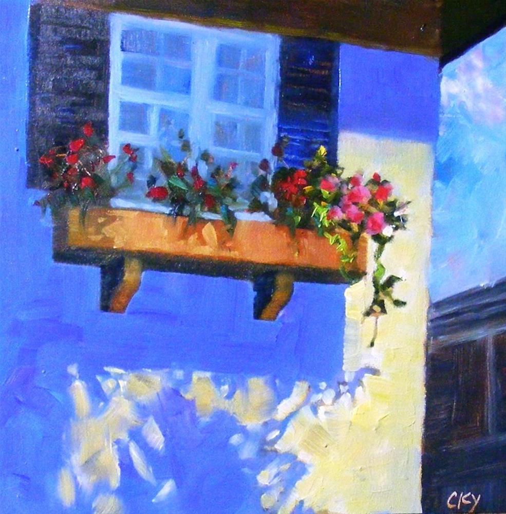 """Afternoon light"" original fine art by Celine K.  Yong"
