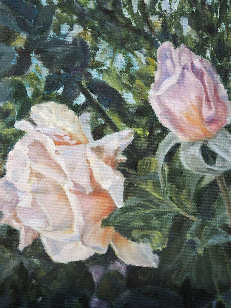 """Max's Roses"" original fine art by Candi Hogan"